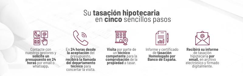 Tasación Homologada por Banco de España para Hipoteca